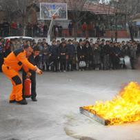 özel yangın eğitimi fotoğrafı