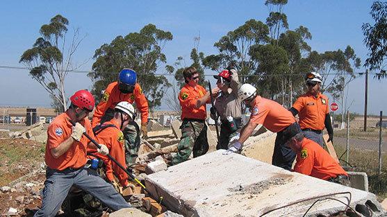 Arama Kurtarma ve Tahliye Ekibi Eğitimi