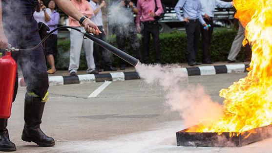 Yangın Söndürme Ekibi Eğitimi